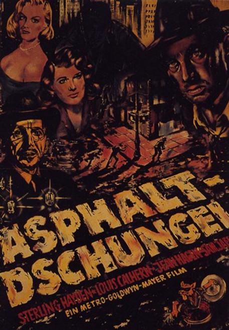 The Asphalt Jungle Movie Poster (11 x 17) - Item # MOV415965