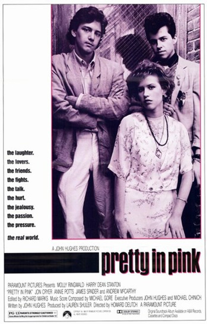 Pretty in Pink Movie Poster (11 x 17) - Item # MOV195477