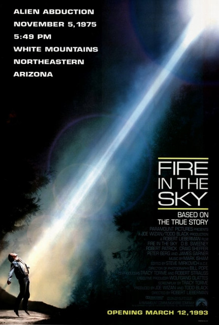 Fire in the Sky Movie Poster Print (27 x 40) - Item # MOVCF6434