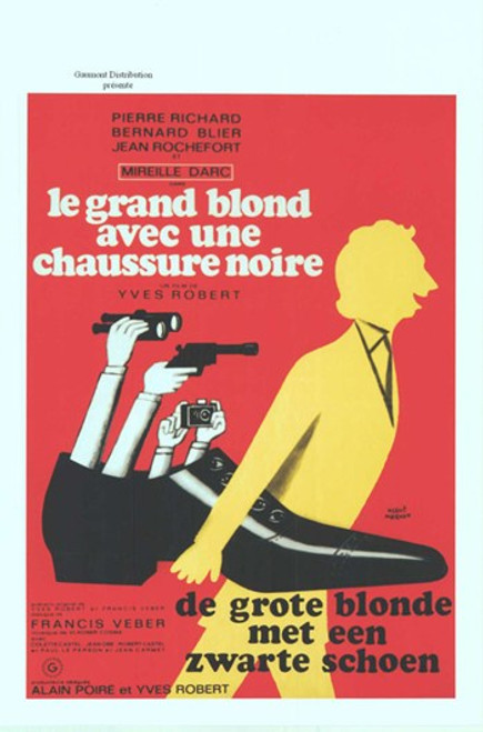 The Tall Blond Man with One Black Shoe Movie Poster (11 x 17) - Item # MOV412752