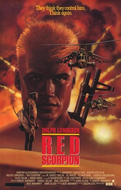 Red Scorpion Movie Poster (11 x 17) - Item # MOV256681