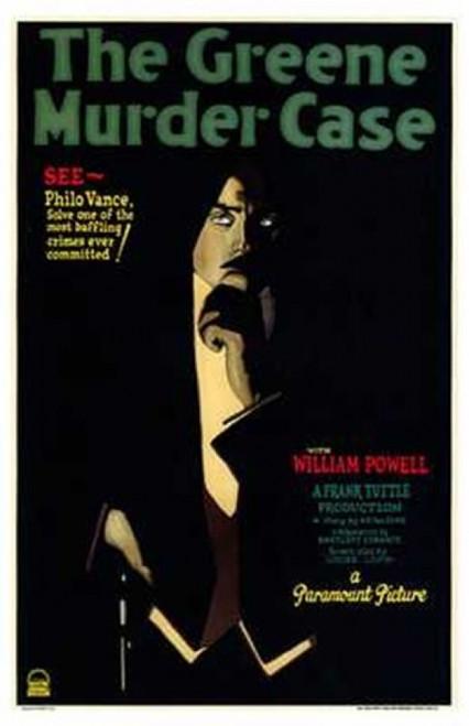 Greene Murder Case Movie Poster (11 x 17) - Item # MOV170577