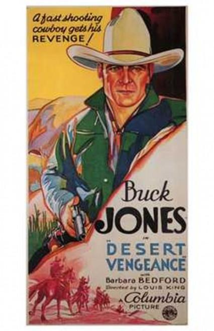 Desert Vengeance Movie Poster (11 x 17) - Item # MOV200035