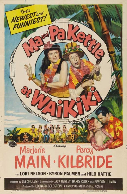 Ma and Pa Kettle at the Fair Movie Poster Print (27 x 40) - Item # MOVEB02304