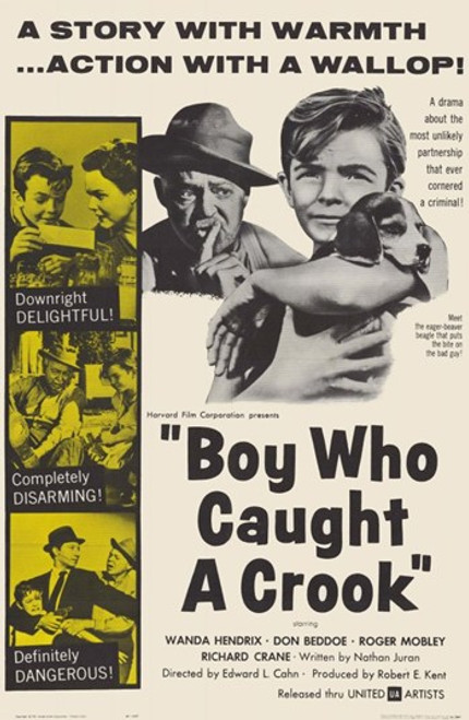 Boy Who Caught a Crook Movie Poster (11 x 17) - Item # MOV248918