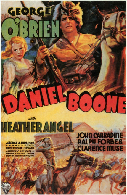 Daniel Boone Movie Poster Print (27 x 40) - Item # MOVEF9334