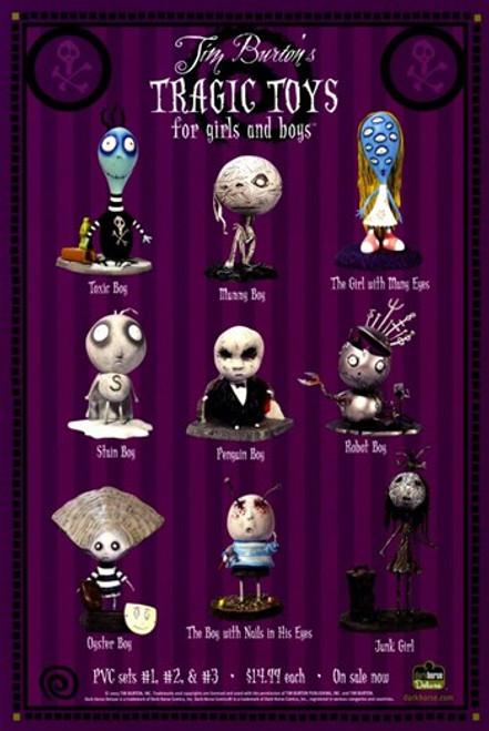 Tim Burton's Tragic Toys Movie Poster (11 x 17) - Item # MOV255719