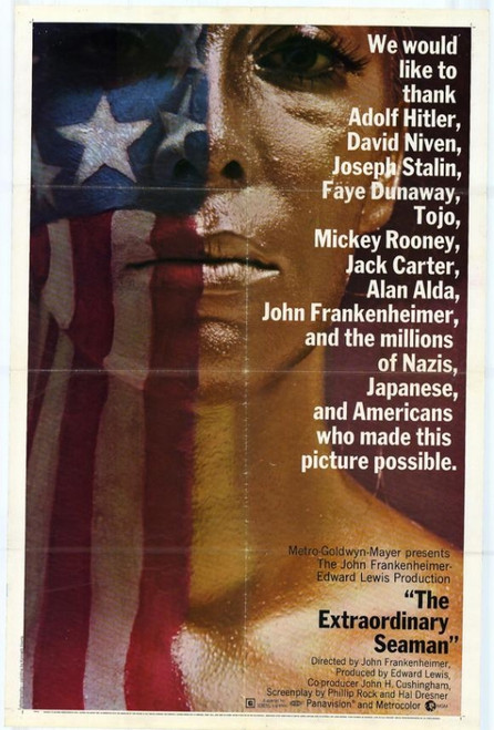 The Extraordinary Seaman Movie Poster Print (27 x 40) - Item # MOVGG0721