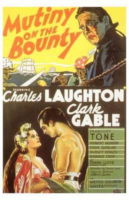 Mutiny on the Bounty Movie Poster (11 x 17) - Item # MOV199465