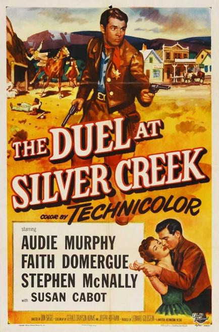 Duel at Silver Creek Movie Poster Print (27 x 40) - Item # MOVAJ8183