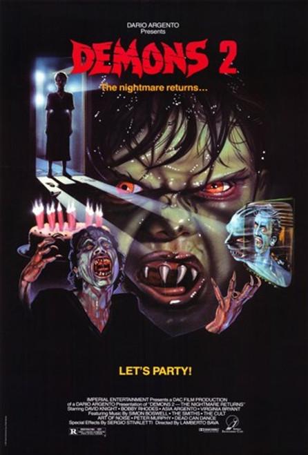 Demons 2 The Nightmare Returns Movie Poster (11 x 17) - Item # MOV300267