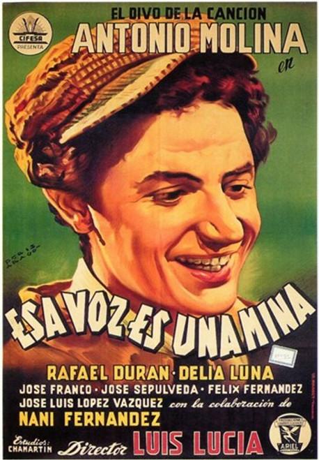 Esa Voz Es Una Mina Movie Poster (11 x 17) - Item # MOV207615