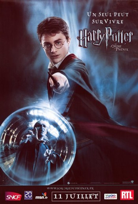 Harry Potter and the Order of the Phoenix Movie Poster (11 x 17) - Item # MOV402420