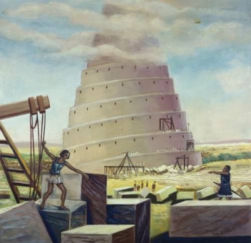 Building the Tower of Babel Vittorio Bianchini Poster Print - Item # VARSAL9008353