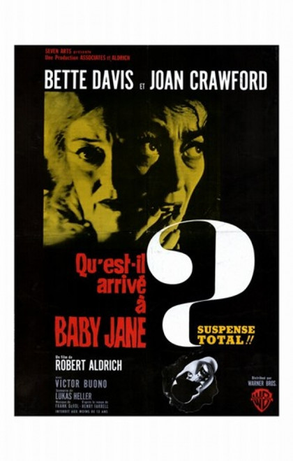 Whatever Happened to Baby Jane Movie Poster (11 x 17) - Item # MOV278148