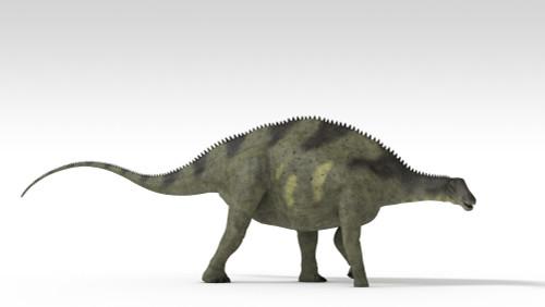 Brachytrachelopan dinosaur, white background Poster Print - Item # VARPSTKVA600698P