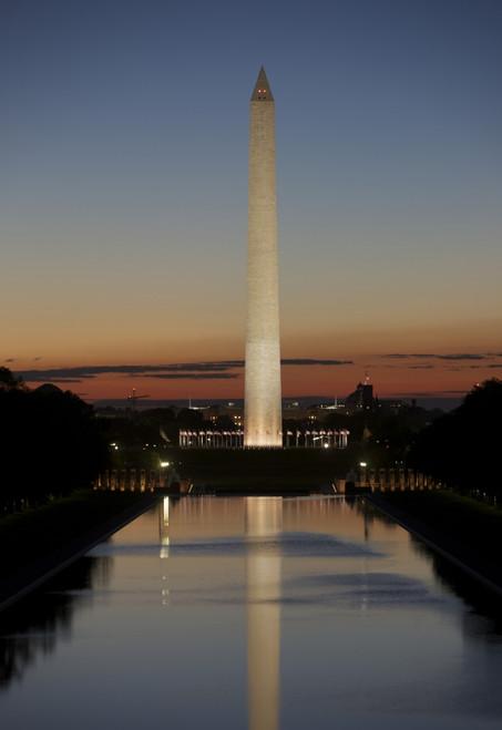 Washington Monument at sunset, Washington D.C., USA Poster Print - Item # VARPSTTMO100575M