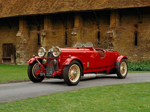 1934 Lagonda M45R 4.5 litre competition 4-seater, won Le Mans in 1935. Country of origin United Kingdom. Poster Print - Item # VARPPI170434