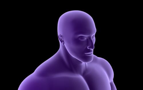 Conceptual image of human upper body Poster Print - Item # VARPSTSTK700033H