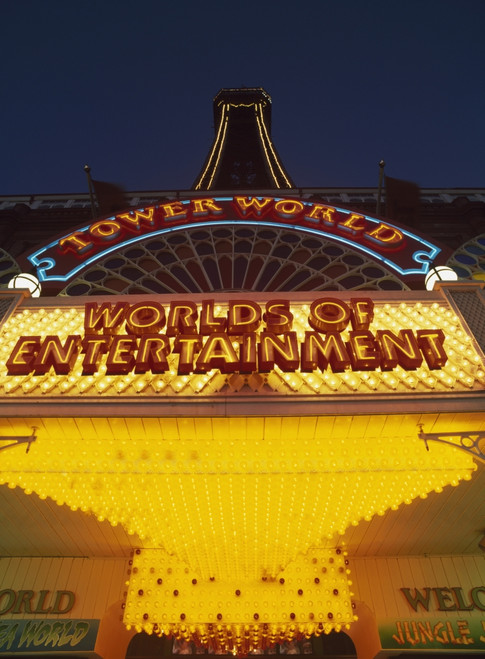 Tower World. Worlds Of Entertainment PosterPrint - Item # VARDPI1918978
