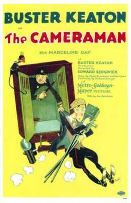 The Cameraman Movie Poster (11 x 17) - Item # MOV143230