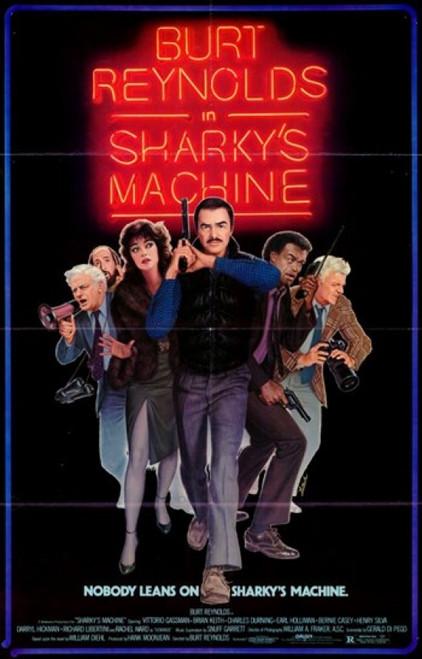 Sharky's Machine Movie Poster (11 x 17) - Item # MOV243784