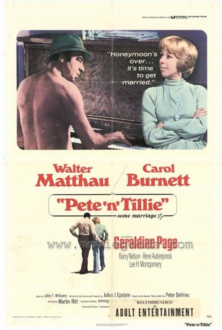 Pete 'n' Tillie Movie Poster Print (27 x 40) - Item # MOVEH4354
