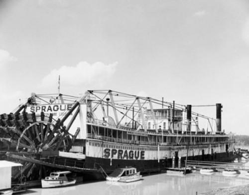 Paddleboat in a river  Sprague Poster Print - Item # VARSAL25540966