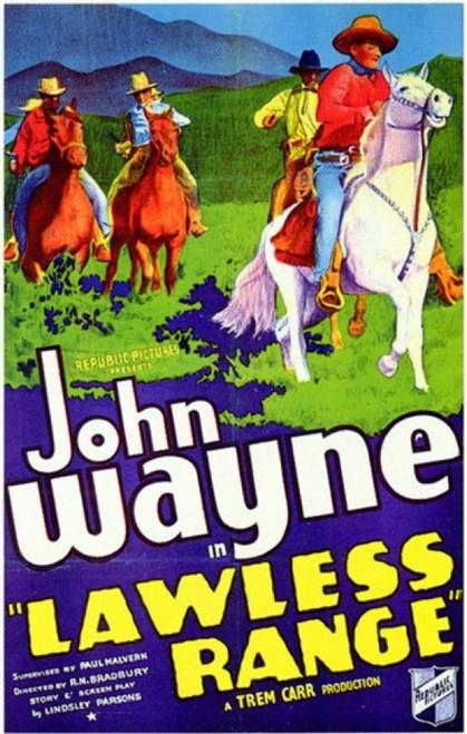 Lawless Range Movie Poster (11 x 17) - Item # MOV200224
