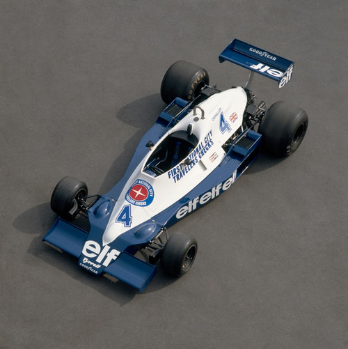 1978 Tyrrell-Cosworth 3.0 litre F1 single seat racing car. Driven by Patrick Depailler. Country of origin United Kingdom. Poster Print - Item # VARPPI170290