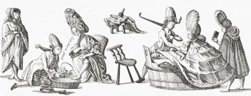 Bloodletting in the 18th century. From Illustrierte Sittengeschichte vom Mittelalter bis zur Gegenwart by Eduard Fuchs, published 1909. PosterPrint - Item # VARDPI2430599