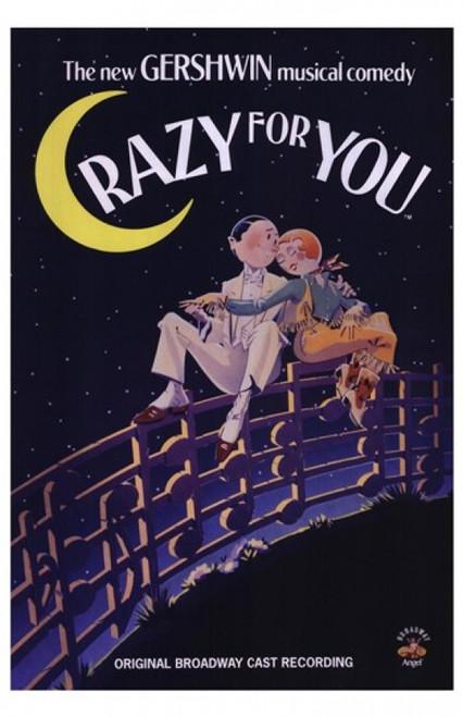 Crazy for You Movie Poster (11 x 17) - Item # MOV205508
