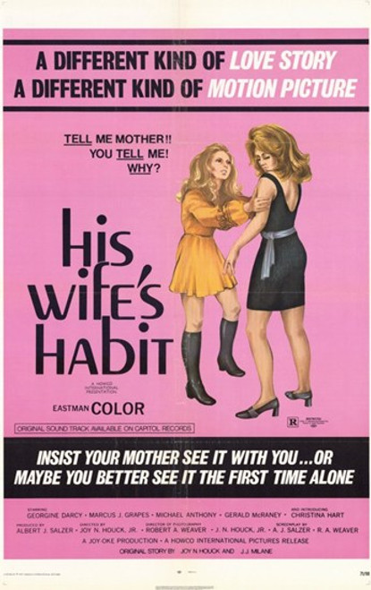 His Wife's Habit Movie Poster (11 x 17) - Item # MOV233263