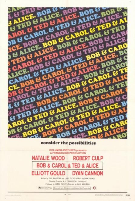 Bob & Carol & Ted & Alice Movie Poster Print (27 x 40) - Item # MOVGH9298