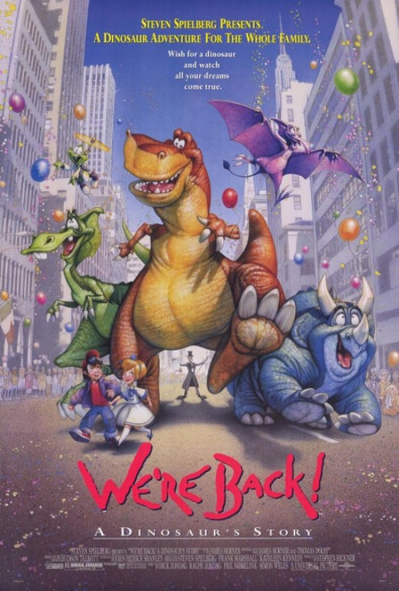 We're Back! A Dinosaur's Story Movie Poster Print (27 x 40) - Item # MOVEH8351