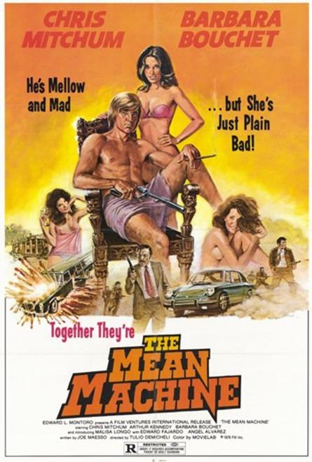 The Mean Machine Movie Poster (11 x 17) - Item # MOV233150