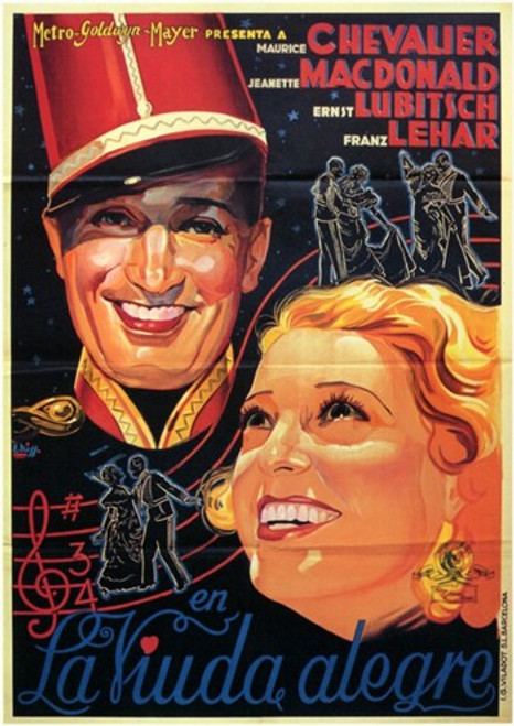 The Merry Widow Movie Poster (11 x 17) - Item # MOV206743