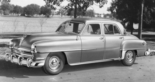 1952 Chrysler Saratoga Poster Print - Item # VARSAL25540143