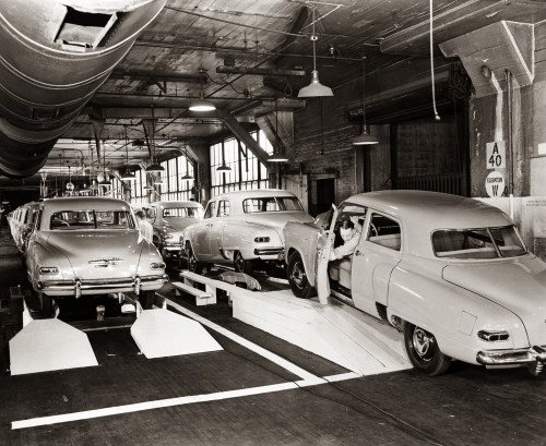 1950s Studebaker Automobile Production Assembly Line Poster Print By Vintage Collection - Item # VARPPI188181