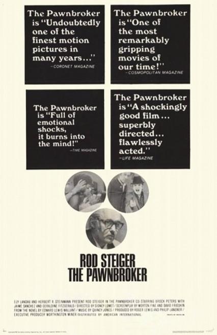 The Pawnbroker Movie Poster (11 x 17) - Item # MOV209632