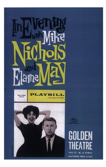Evening with Mike Nichols and Elaine May (Broadway) Movie Poster (11 x 17) - Item # MOV409217