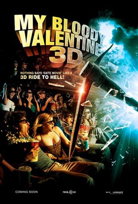 My Bloody Valentine 3-D, c.2009 - style C Movie Poster (11 x 17) - Item # MOV429923