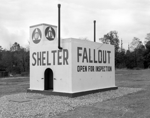 1950s Civil Defense Fallout Shelter Sample Open For Inspection Poster Print By Vintage Collection (22 X 28) - Item # PPI194121LARGE