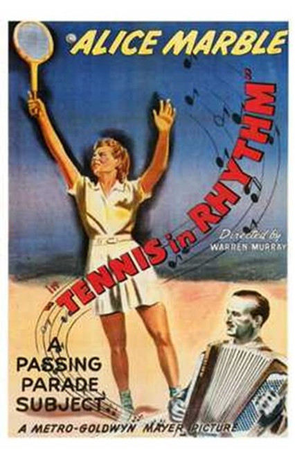 Tennis in Rhythm Movie Poster (11 x 17) - Item # MOV196952
