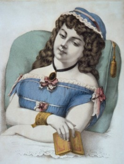 Beautiful Dreamer  Currier and Ives  lithograph  1857-1907  U.S.A.  Washington  D.C.  Library of Congress Poster Print - Item # VARSAL9001219