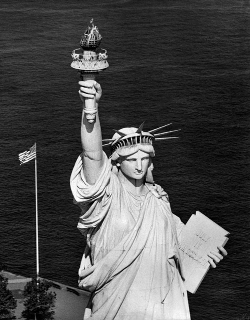 1960s Statue Of Liberty Shown From Waist Up Poster Print By Vintage Collection - Item # VARPPI178867
