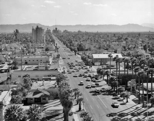 1960s Downtown Phoenix Arizona Usa Poster Print By Vintage Collection - Item # VARPPI179051