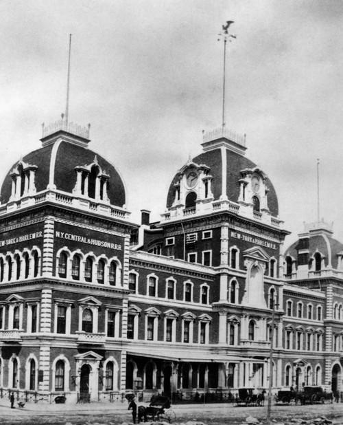 1871 Grand Central Depot New York City Usa Demolished Poster Print By Vintage Collection - Item # VARPPI178538