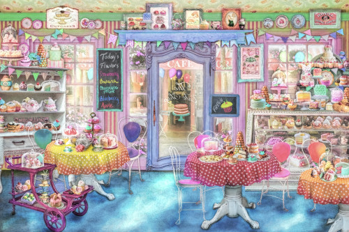 18 x 9 Poster Print by Aimee Stewart Variant 1 Posterazzi Hidden Object Cake Shop