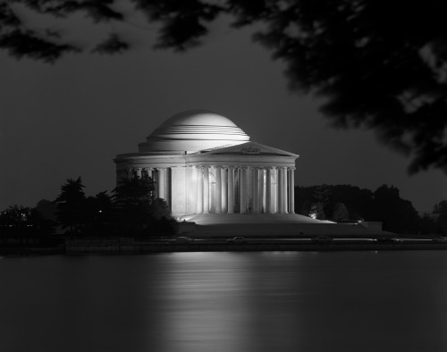1960s Washington Dc Jefferson Memorial At Night Poster Print By Vintage Collection (22 X 28) - Item # PPI178812LARGE